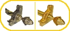 Grand Dynasty Stair Rod, Brackets and Finials