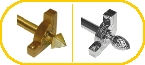 Sovereign Stair Rod, Brackets and Finials